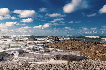The born of the storm Achtopol Black sea coast Bulgaria