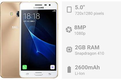 Samsung J3 Pro (2016) - Spessifikasi