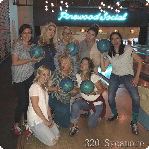 pinewood social bowling girls weekend