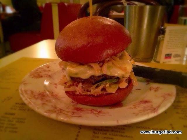 Mishkin's 6oz Reuben Burger