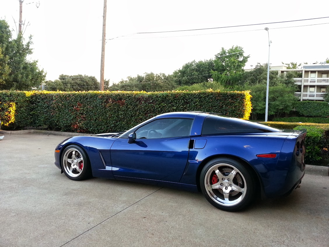 New Purchase Corvette C6 W With Booty Lemans Blue Dfw Auto Club Forums