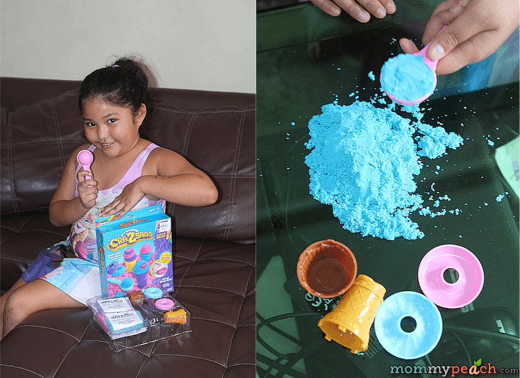 Ykaie is Crazy about Cra-Z-Sand Mold 'N Play Sweet Treats