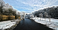 The Riber Coquet at Rothbury on a beautiful Winter's day