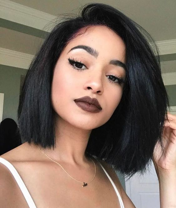 Bob cut For Chic ladies Women voted the best style 2018 11