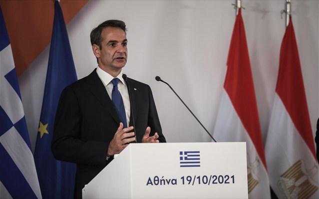 Κ. Μητσοτάκης: Ελλάδα, Κύπρος και Αίγυπτος ταυτίζονται στην καταδίκη της επιθετικής ρητορικής της Τουρκίας