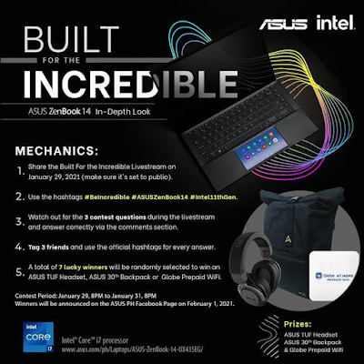 Watch the ASUS ZenBook 14 (UX435EG)