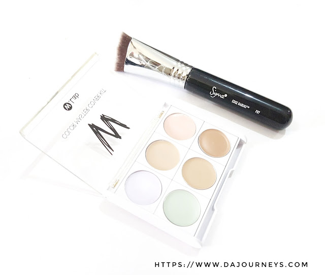 Review F87 Edge Kabuki Brush Sigma Beauty