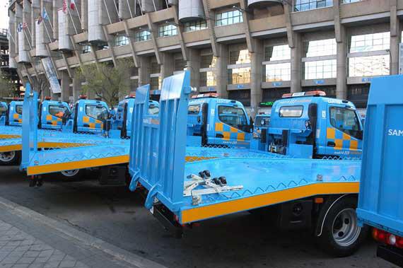 Localizar vía SMS un vehículo retirado por la grúa municipal