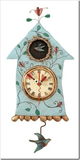 Allen Designs Bird fly Clock