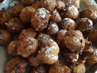 Oliebollen Dutch Doughnuts Baking With Eda