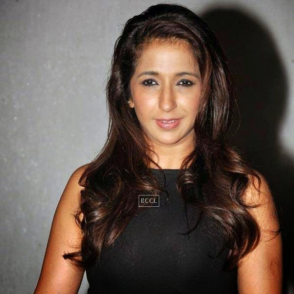 Krishika Lulla attend the wrap-party of Bollywood movie Mary Kom, held at Sanjay Leela Bhansali's residence on July 26, 2014.(Pic: Viral Bhayani)