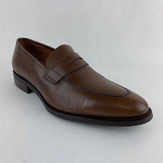 Jack Erwin Brown Penny Loafers