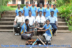 Inter Collegiate Softball 3rd Place 2013-14