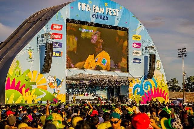 Cuiabá, Mato Grosso, Brasil. FIFA 2014.