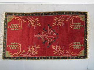 Tibetan Wool Pile Area Rug