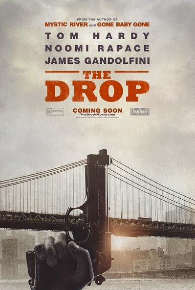 Poster Of English Movie The Drop (2014) Free Download Full New Hollywood Movie Watch Online At Alldownloads4u.Com