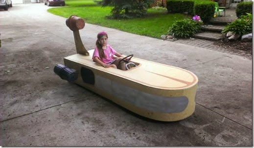 diy star wars landspeeder