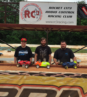 Stadium Truck Mod - 1st: Spencer Glasgow, 2nd: Tyler Schrimsher, 3rd: Freddie Marsh, TQ: Spencer Glasgow