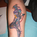 leg - Final Fantasy Tattoos Pictures