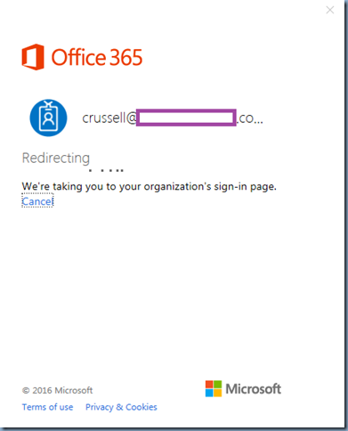 Terence Luk: Attempting to sign into Office 365 https