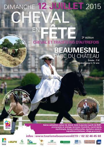 Cheval en fête au château de Beaumesnil (27) Affiche-cheval-en-fete-beaumesnil-12-juillet-2015