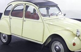 Citroën 1970 2 CV clignotant