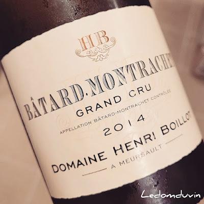 Henri Boillot Batard-Montrachet 2014 by ©LeDomduVin 2021
