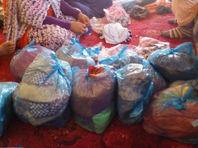 أولاد الدشيرة للعمل الخيري يدخلون الفرحة على بيوت الايتام في ليلة العيد