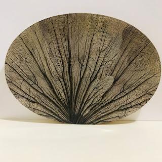 John Derian Fan Coral Platter