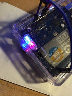 Arduino yun lights