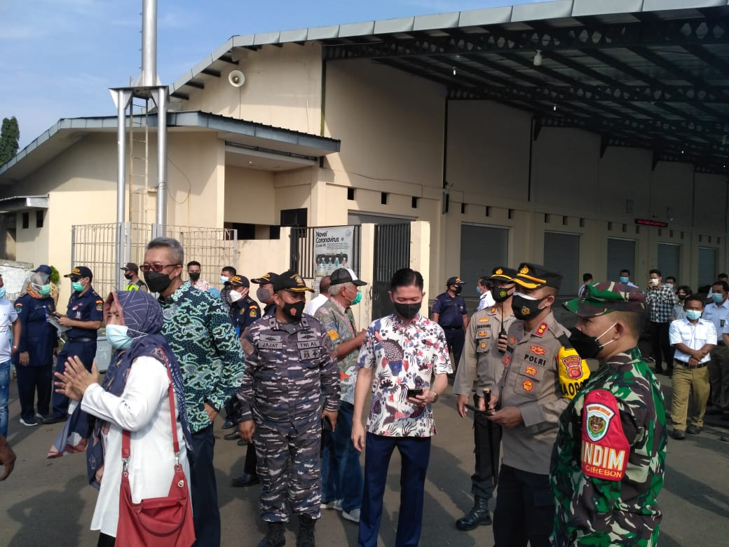 Kapolres Cirebon Kota, Pastikan Kunjungan Menteri Kelautan Perikanan Ke PPN Kejawanan Cirebon Kota Aman