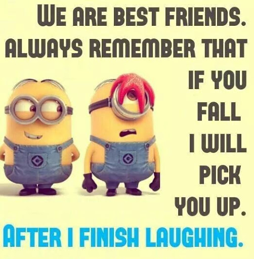 Funny Friendship Quotes.