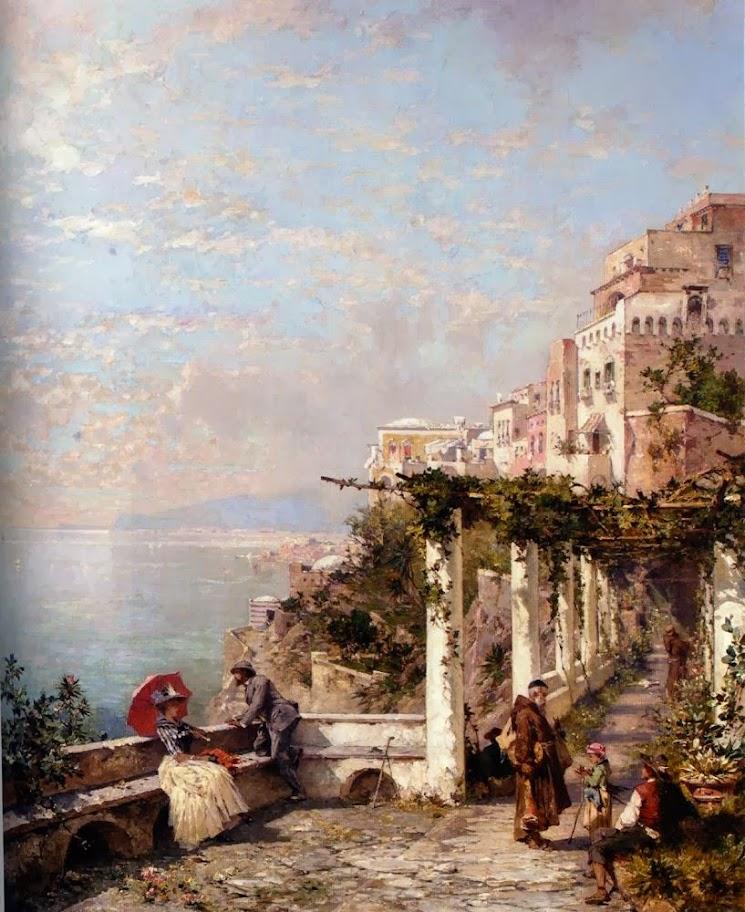 Franz Richard Unterberger - The Amalfi Coast