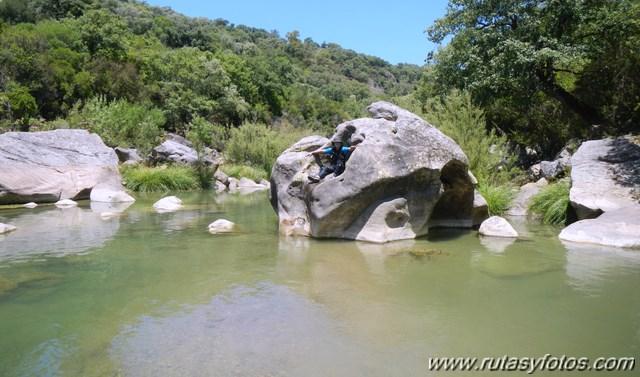 Río guadiaro desde El Colmenar hasta El Corchado