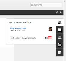 Un gadget texte avec un badge YouTube