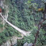 10. Mountain Bridge. Longsheng