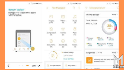 aplikasi file manager HP android samsung