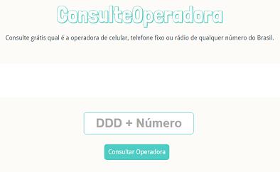 Consulte Operadora