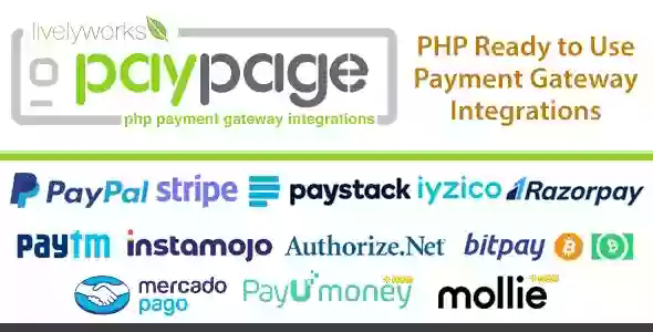 PayPage v1.3.0 – PHP ready to use Payment Gateway Integrations