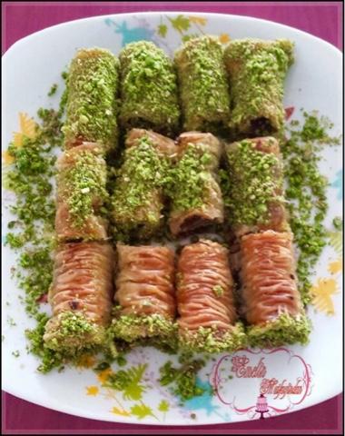 Burma Tatlısı Tarifi(Fıstıklı)