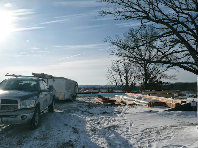 Building of new home in Waukesha, WI - P1030287.JPG