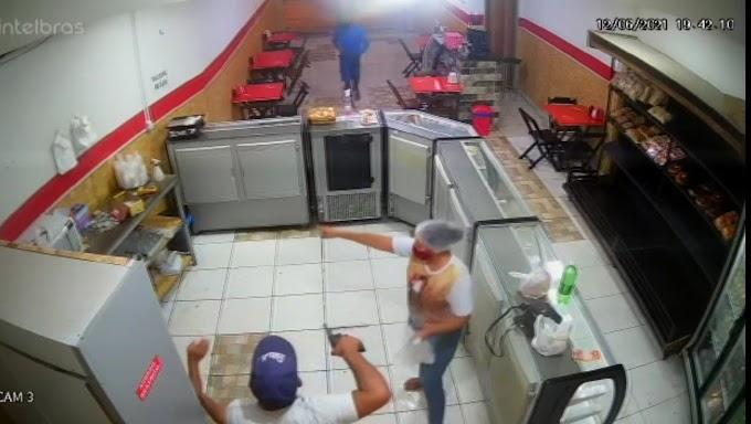 Padaria é assaltada  em Jaguarari (BA).