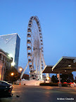 The new ferris wheel near Centennial Olympic Park!