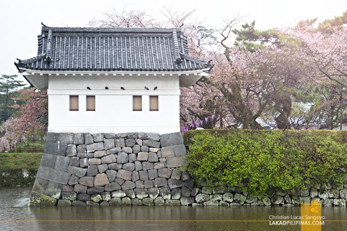 Moat Surrounding Kanagawa's Odawara Castle