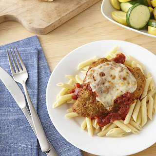 Chicken Parmesan Dinner With Penne And Squash