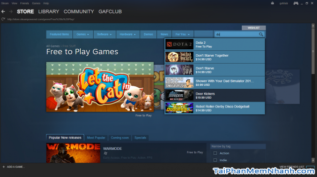 kho game của steam
