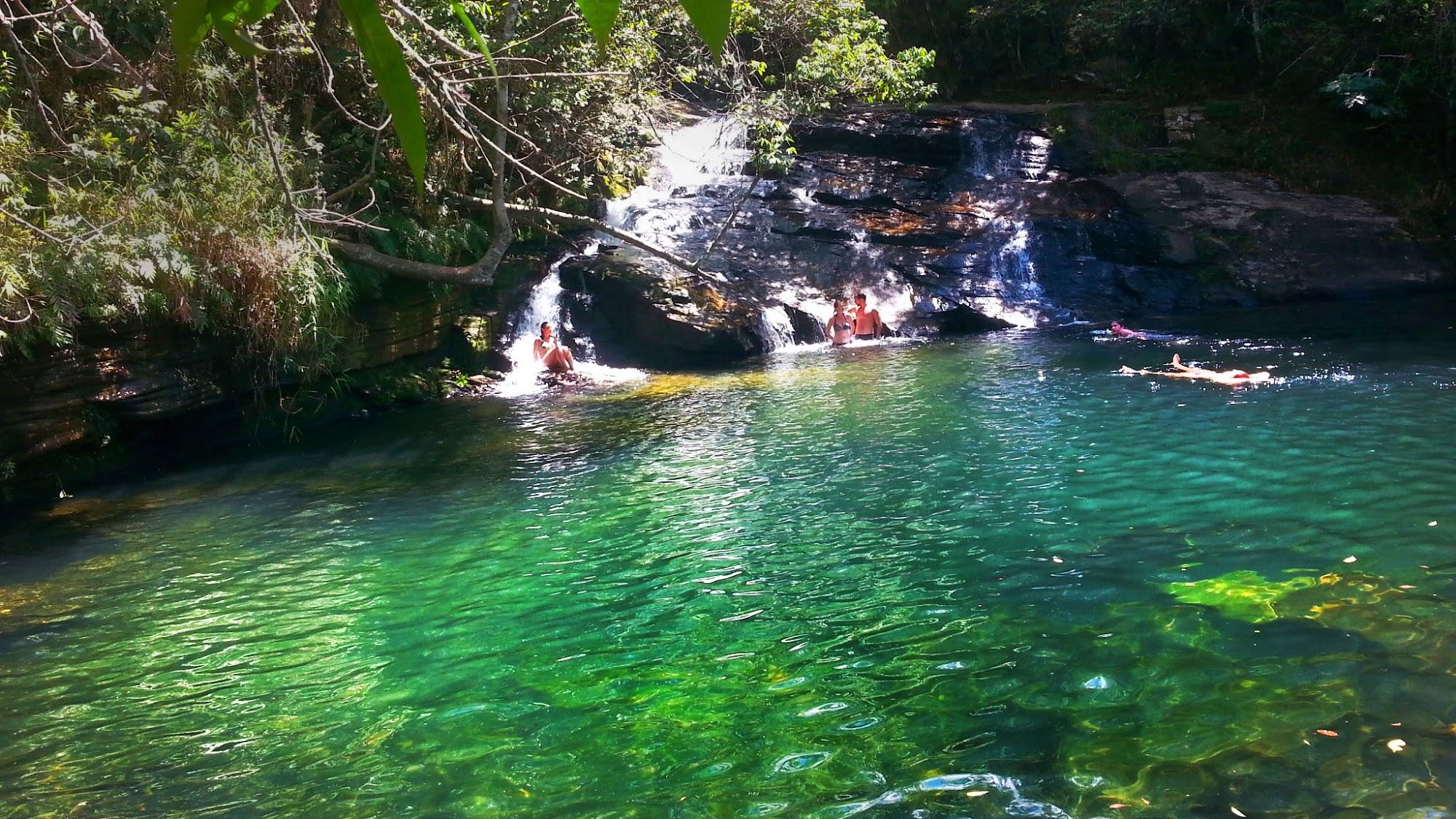 Cachoeira da Esmeralda - Carrancas,MG