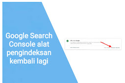 Google Search Console alat pengindeksan kembali lagi