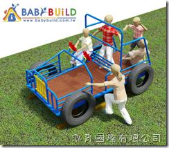 BabyBuild吉普車造型遊具