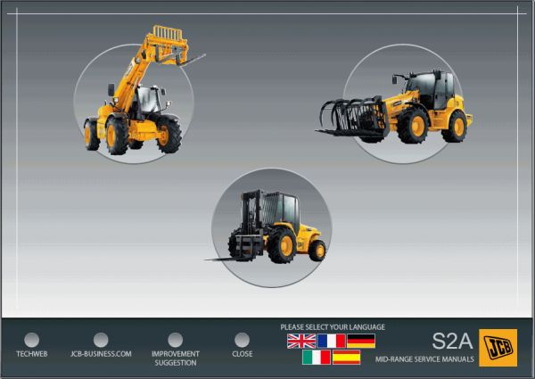 JCB Service Manuals 01.2017 on